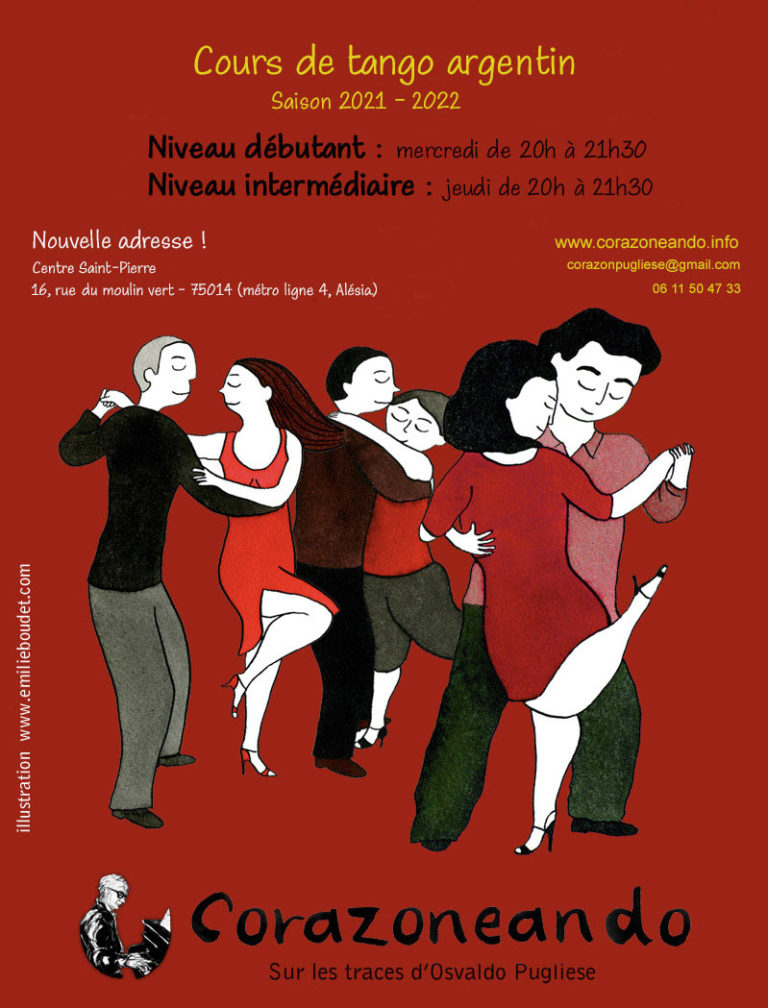 Cours tango 2021-2022